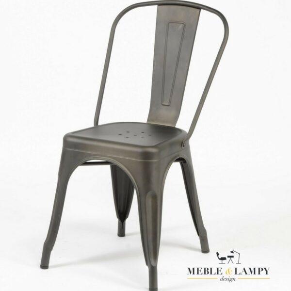 Krzesło barowe GUNMETAL