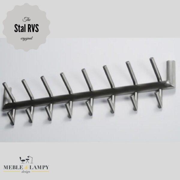 Wieszak 2×8 tuba RVS