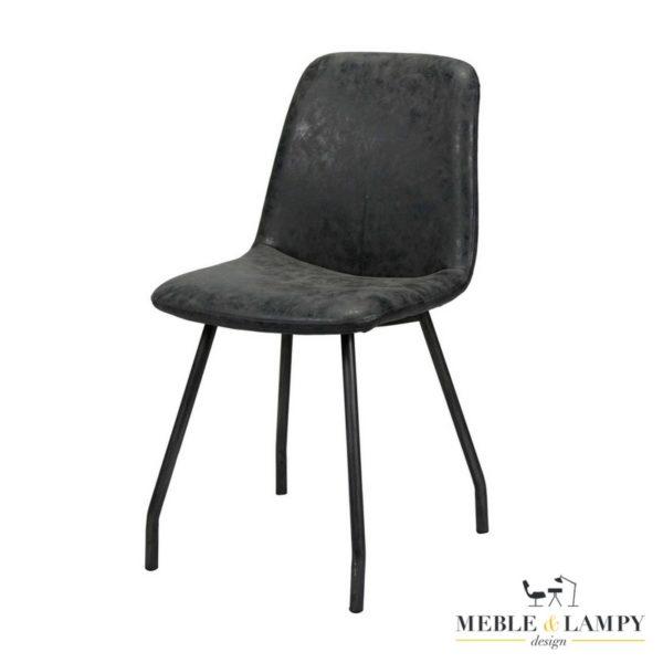 Krzesło STIKNAAD BLACK woskowane