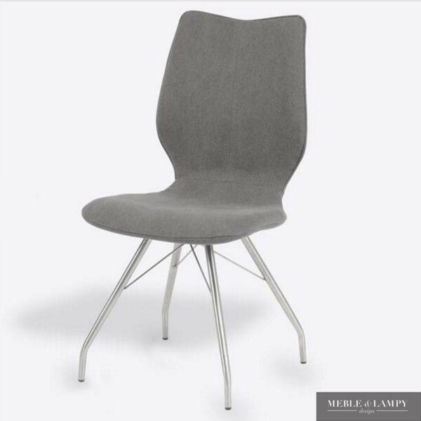 Krzesło Shark Jeans/Buffelo stal nierdzewna