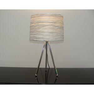 Lampa stołowa 1L szara