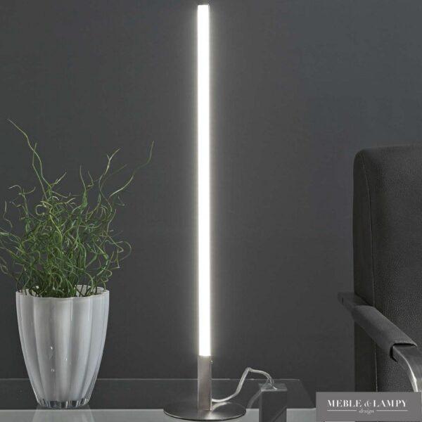 Lampa stołowa LED prosta