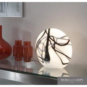 Lampa stołowa szklana