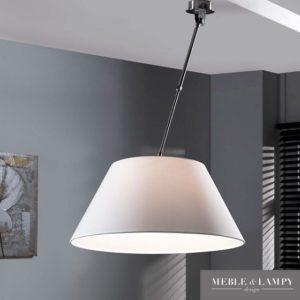 Lampa sufitowa biała prosta