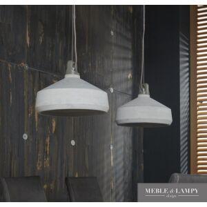 Lampa wisząca 2L betonowe klosze