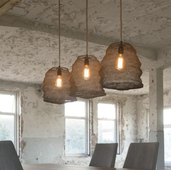 Lampa wisząca Korf 3 x Ø30