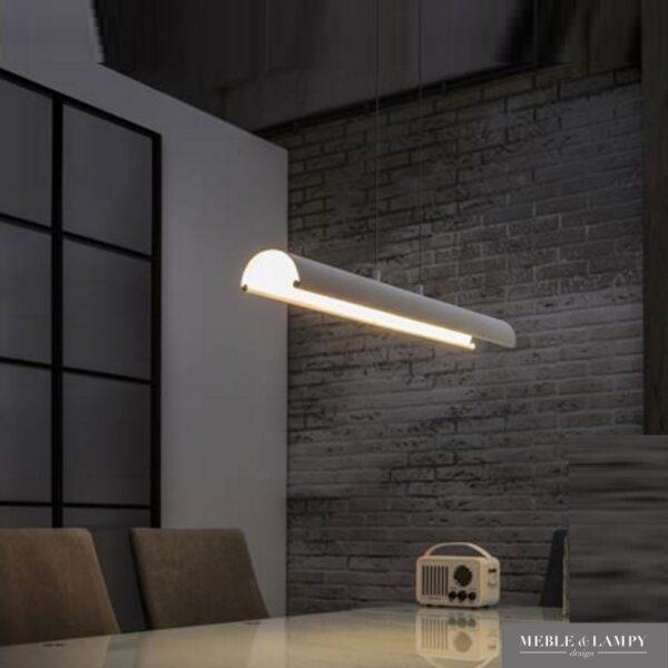 Lampa wisząca LED biała