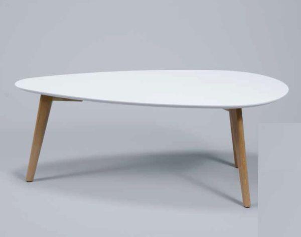 Stolik kawowy 100x50cm biały