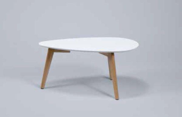 Stolik kawowy 70x30cm biały