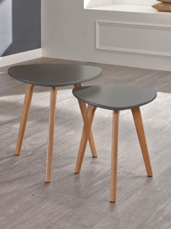 Stolik Ø40cm MDF/drewno