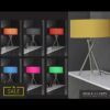 Lampa stołowa 1L 3-Piedi kolory