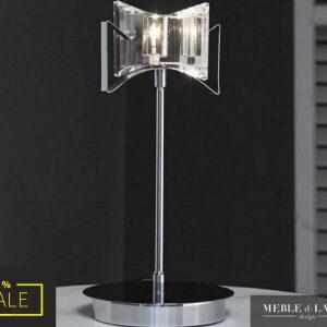 Lampa stołowa 1L ARCO kryształ