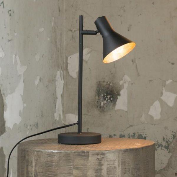 Lampa stołowa cup mat gold/black