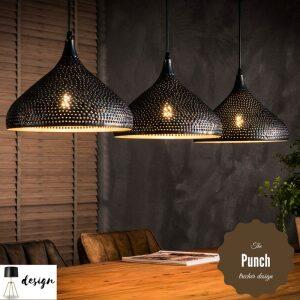 Lampa wisząca 3xØ32 Punch Trecher