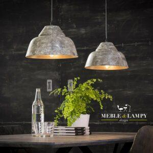 Lampa wisząca 2xØ30 Weathered copper design