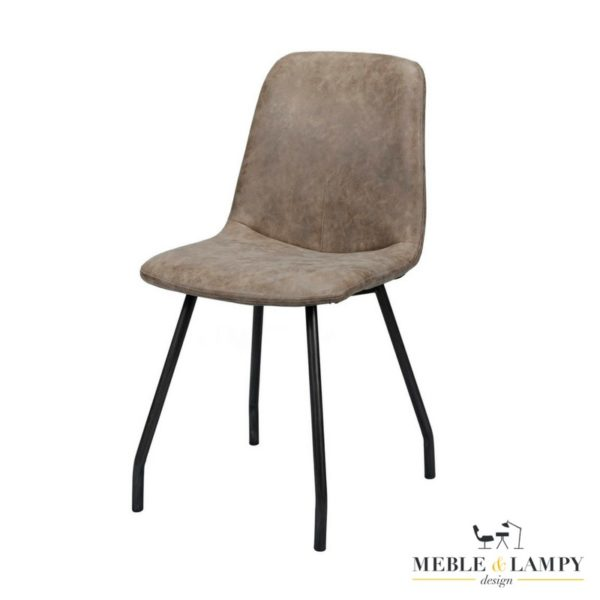 Krzesło STIKNAAD BROWN woskowane