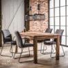 Stół 180x90cm z recyklingowanego/starego drewna LODGE