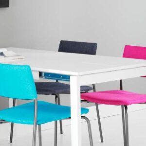Krzesło materiałowe antracyt