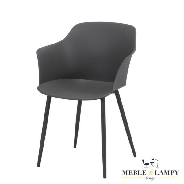 Krzesło polypropylen PP trzy kolory - szare
