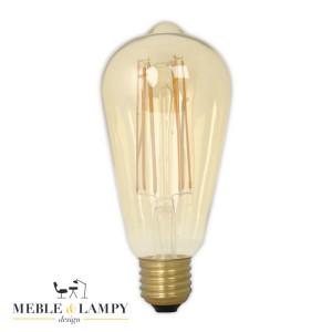 Żarówka rustykalna LED E27 4W 2100K Złota Kropla