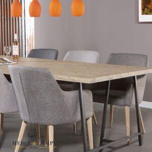 Stół z drzewa akacji Coffe 200×100 cm