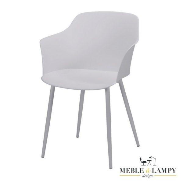Krzesło polypropylen PP trzy kolory - białe