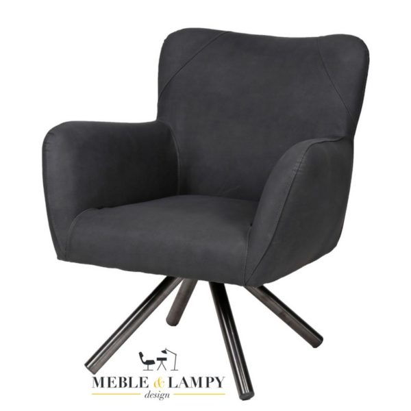 Fotel Teddy Buffelo czarny