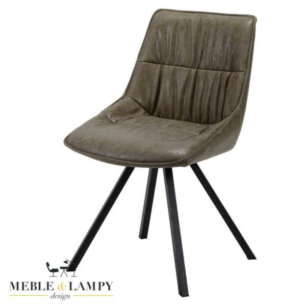 Krzesło PLOOI eko skóra-taupe