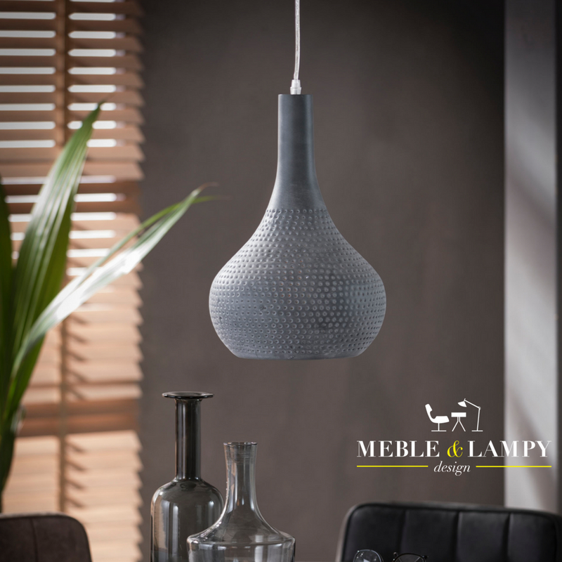 Lampa wisząca 1x Cone beton look