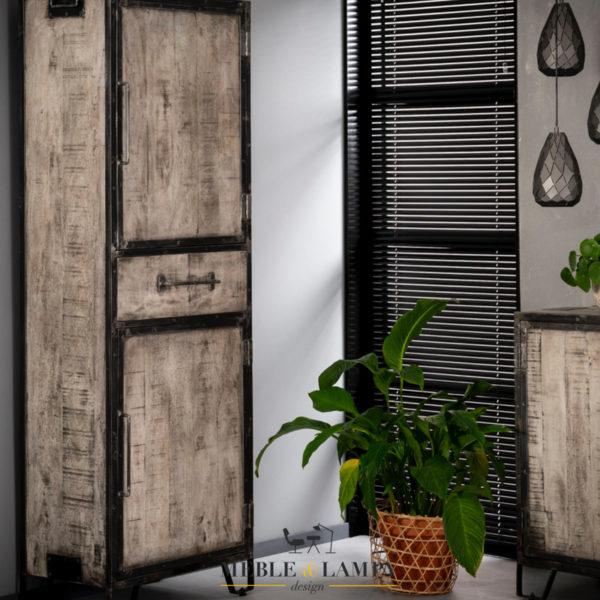 Szafa RIFT - 2 drzwi, 1 szuflada