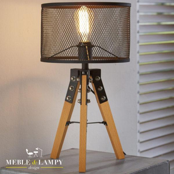 Lampa stołowa Presa Wood