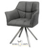 Krzesło/Fotel Black COMO lux edition