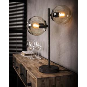 Lampka stołowa – Dwie Szklane Kule