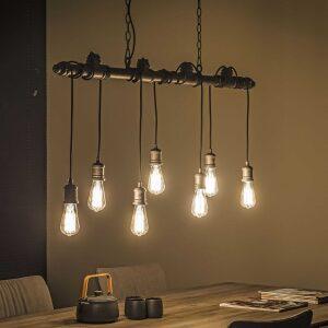 Designerska lampa wisząca 7L
