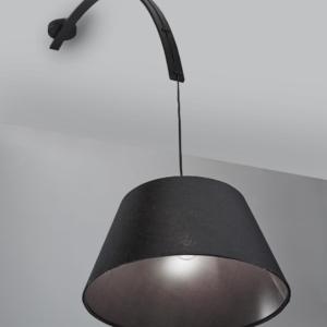 Lampa sufitowa TONDA BLACK