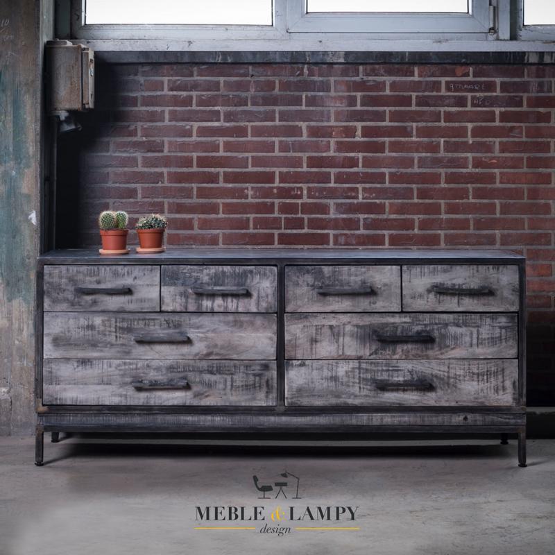 Komoda Ruff Solid Metal Leem Industrial