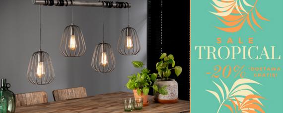 Designerska Lampa Wisząca LAMPION 4L O Średnicy 18 Cm