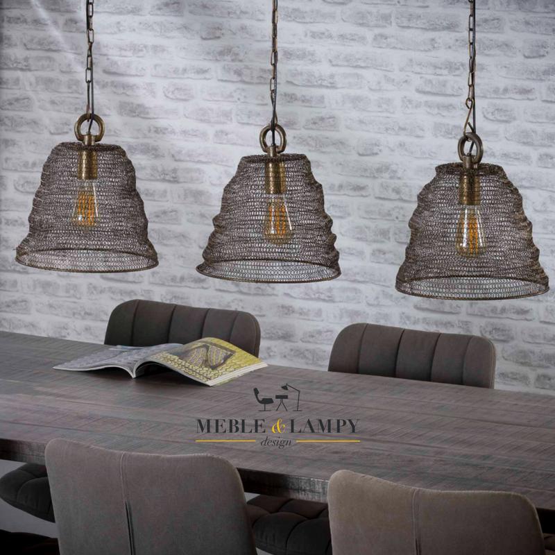 Lampa wisząca The Mesh Tripod 3xØ30