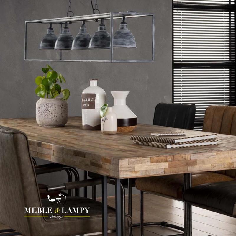 Stół 240x100cm z drewna tekowego TECA