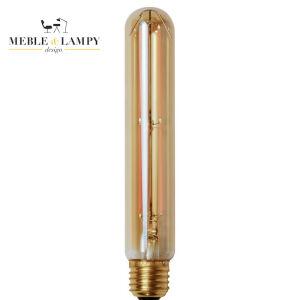 Żarówka rustykalna Złota Tuba 18,5 cm