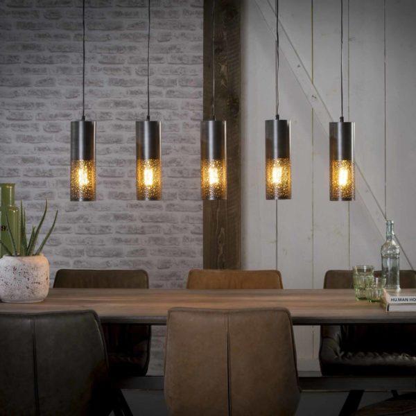 Lampa wisząca Cylindry 5L – średnica 10 cm