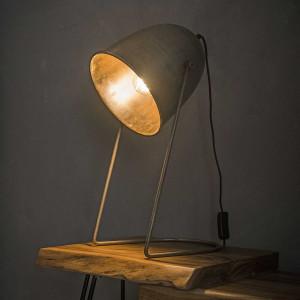 Lampa stołowa Industry – stalowa