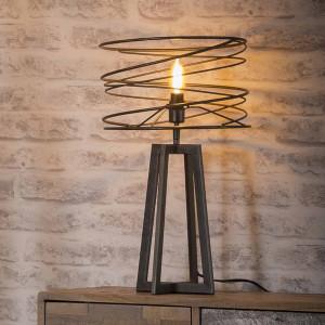 Lampa stołowa Spirala o średnicy 30 cm