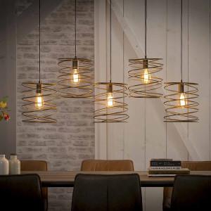 Lampa wisząca Spirala 5L o średnicy 25 cm