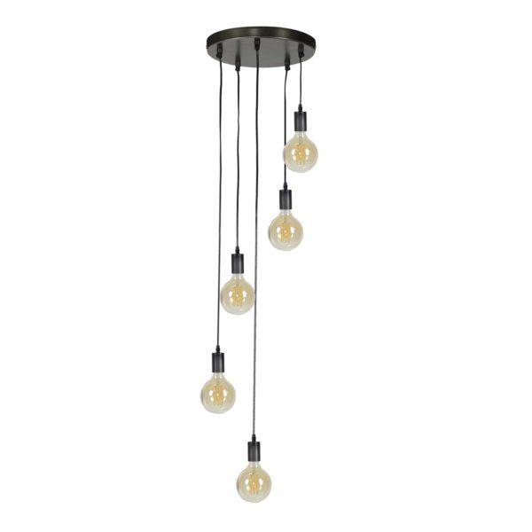 Lampa wisząca schodkowa 5L