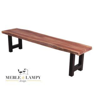 Ławka drewniana Boom Stam 160 cm masywna akacja