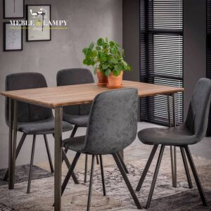 Stół SCANDYNAVSKI 120×80 V-nogi