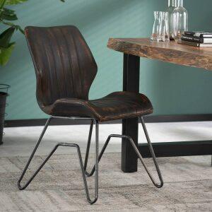 Krzesło STREEP Profilowane – Brązowe