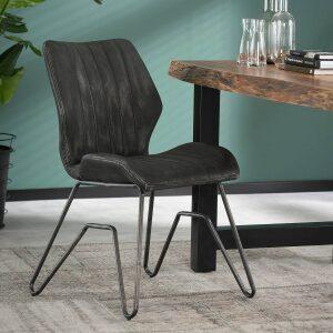 Krzesło STREEP Profilowane – Antracytowe