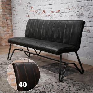 Krzesło / Ławka STREEP 150 cm – duża ławka do stołu Brązowa